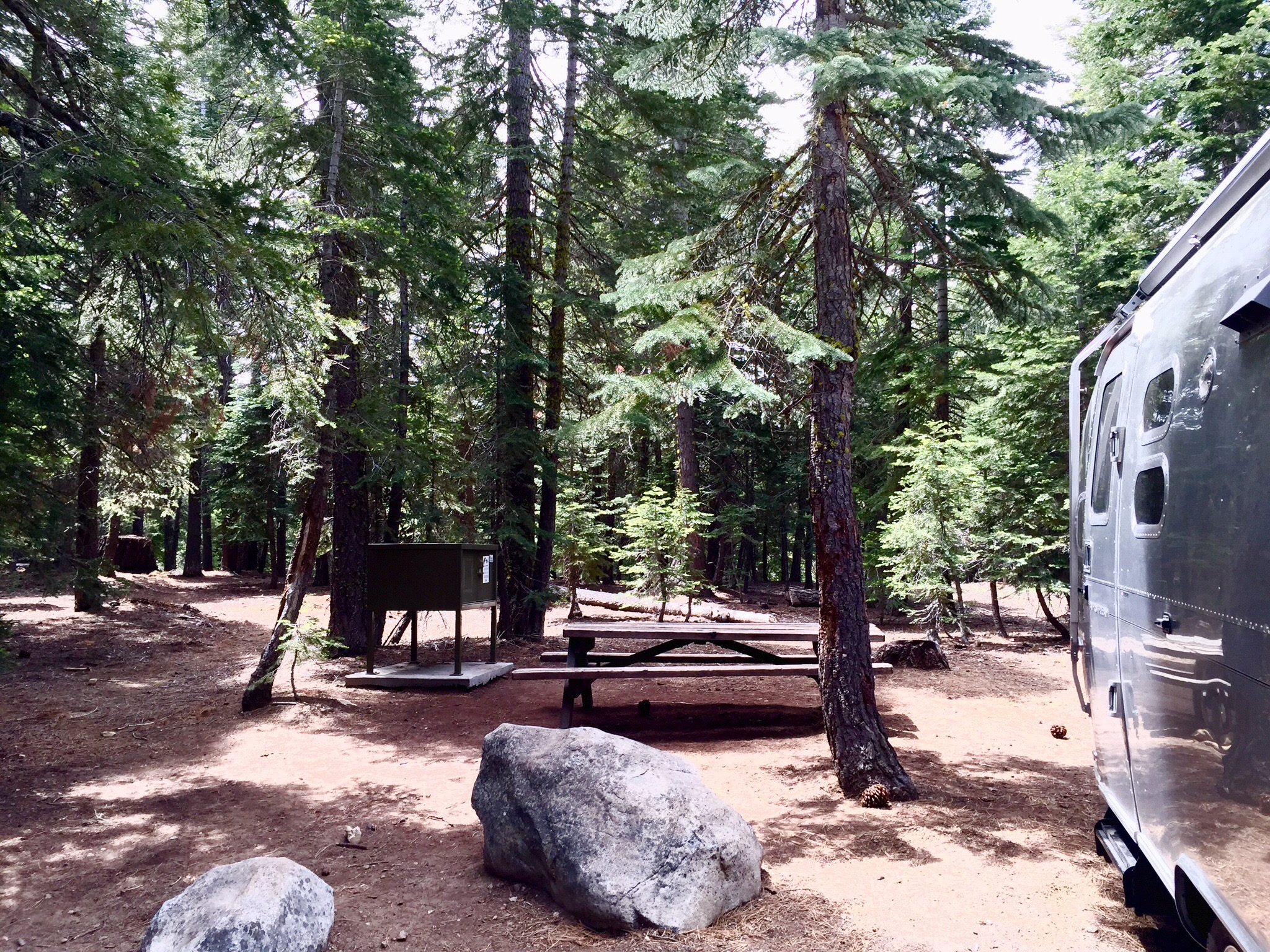 Sugar Pine Point State Park Campground Ca Airstream On